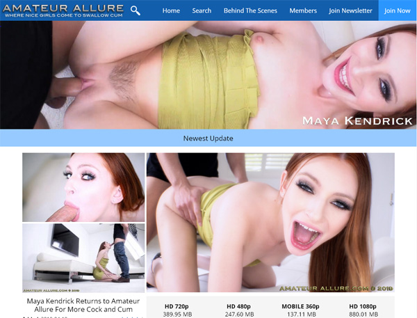 Account Amateur Allure Gratis