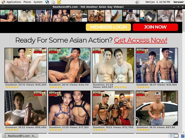 Get Real Asian BFs Trial Membership
