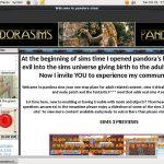 Pandora Sims Sign In