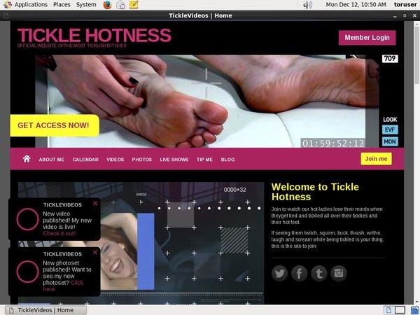 TICKLE HOTNESS Member Access