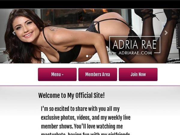 Adria Rae Previews