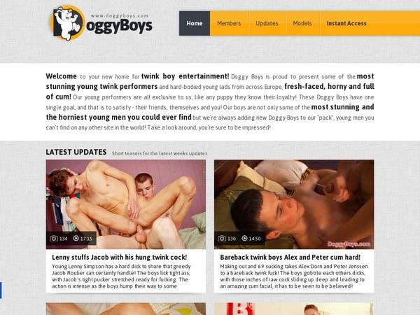 Doggy Boys Paiement