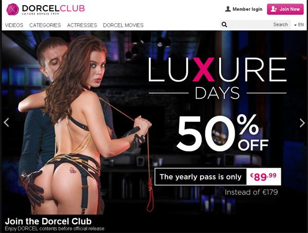 Inside Dorcel Club