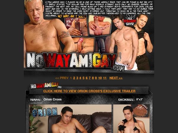 Discount Nowayamigay.com Save 50%